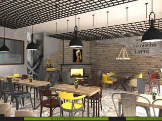 Cafe NERO MİMARLIK YAPI A.Ş Endüstriyel