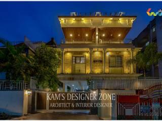 Bungalow Interior Design of Mr. Rahul Jadhav: country  by KAM'S DESIGNER ZONE,Country