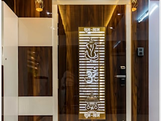 Flat Interior Design at Pune: asian  by KAM'S DESIGNER ZONE,Asian