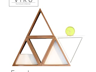 viku Living roomAccessories & decoration Wood Brown