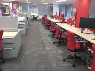 Oficina: Oficinas y Comercios de estilo  por JKrause Construcciones Spa, Moderno