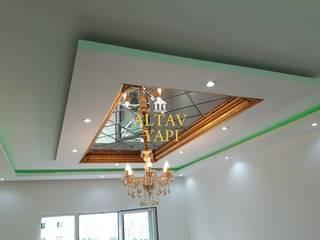 Baklava dilimli ayna dekoratif modeller Altav Yapı Akdeniz