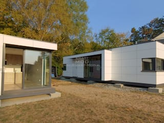 Dom z dostawą na działkę Smart Mod Domy modułowe Nowoczesne domy