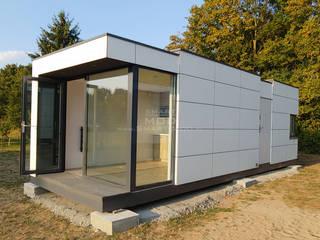 Dom z dostawą na działkę Nowoczesne domy od Smart Mod Domy modułowe Nowoczesny