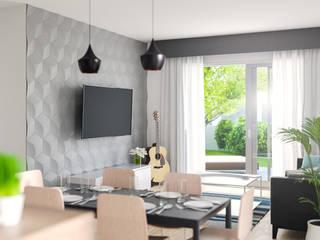 Cubic - Panele 3D Kalithea Kalithea JadalniaAkcesoria i dekoracje