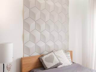 Cubic - Panele 3D Kalithea Kalithea SypialniaAkcesoria i dekoracje