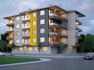Casas modernas: Ideas, imágenes y decoración de Dündar Design - Mimari Görselleştirme Moderno