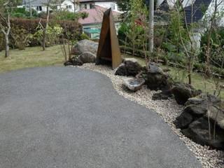 施工後 の 庭や煌久