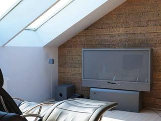 MADERA Paredes y suelos de estilo moderno de Bricopol Moderno