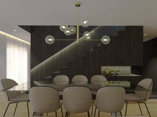 SS Duplex Apartment:   por 411 - Design e Arquitectura de Interiores