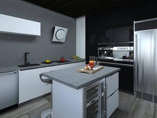 Cocina Italiana:  de estilo  por Re: Project SAS