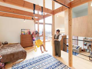 株式会社建築工房DADA Modern nursery/kids room