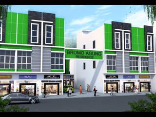 Ruko dan Townhouse design 2 Oleh Lims Architect