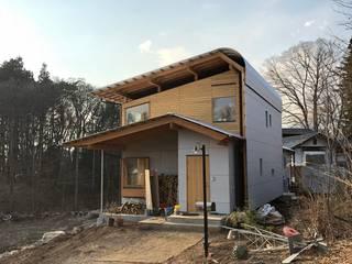 すわ製作所 Ausgefallene Häuser Holz