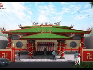 Avalokitesvara Temple Tj.Balai Event Venue Klasik Oleh Lims Architect Klasik