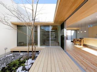 sadaltager: ポーラスターデザイン一級建築士事務所が手掛けた庭です。