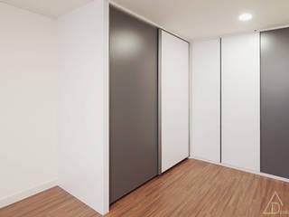 Salas de entretenimiento de estilo  por 디자인 아버, Moderno