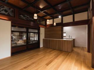既存の天井を活かした和洋折衷の上質空間リフォーム の 株式会社JA建設エナジー