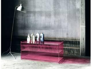 Meuble de rangement Dr. Jekyll et Mr. Hyde dessiné par Piero Lissoni pour Glas Italia:  de style  par Création Contemporaine