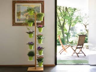 Le zie di Milano Garden Plant pots & vases Solid Wood