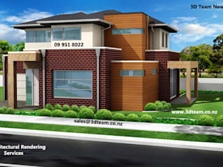 3D Architectural Rendering:   by 3D Team