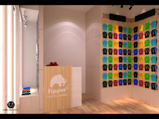 Fipper Store & Booth Oleh Lims Architect