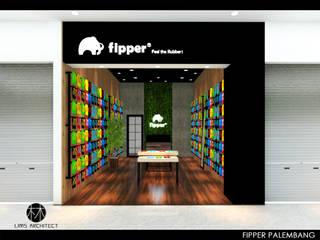 Fipper Store dan Booth 2 Oleh Lims Architect