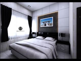 Serdang Residence Interior Furniture Kamar Tidur Minimalis Oleh Lims Architect Minimalis