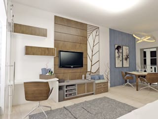 Modern Living Room by AlevRacu Modern