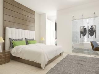 AlevRacu – Beach House :  tarz Yatak Odası