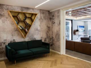 Library AB DESIGN Minimalist style conservatory