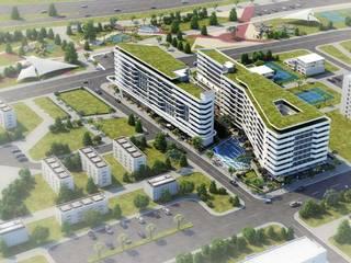 ANTE MİMARLIK Centros comerciales de estilo moderno