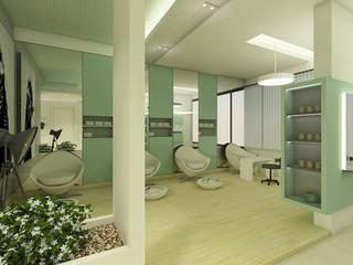 SALOON IN DUBAI:  Commercial Spaces by EX SERVICEMAN ENTERPRISES