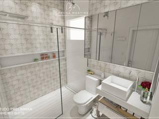 CASA 834 Banheiros minimalistas por BRUNA MARTINS Arquitetura + Interiores Minimalista
