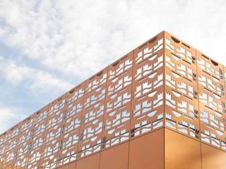 Nahversorgungszentrum Dresden, SchnorrStraße, A+M Architekten Moderne Einkaufscenter von Ken Wagner Photography Modern