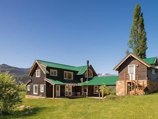 บ้านไม้ โดย Patagonia Log Homes - Arquitectos - Neuquén,
