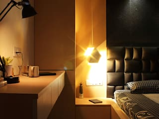 Prateeks' Residence Interiors Modern style bedroom by Soul Ziv Architecture Modern