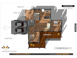 แปลน:  บ้านสำหรับครอบครัว by แบบบ้านออกแบบบ้านเชียงใหม่