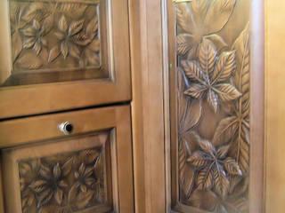 Деревянный резной декор:  в . Автор – Мастерская Художественной Мебели DerevoDekor , Кантри