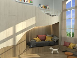 Nursery/kid's room by Barragan Carpinteria