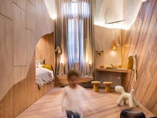 嬰兒房/兒童房 by Barragan Carpinteria,