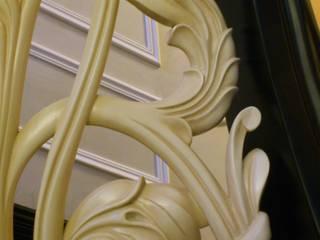 Лестницы деревянные резные:  в . Автор – Мастерская Художественной Мебели DerevoDekor , Классический