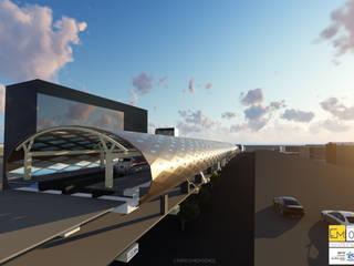 MMRDA Andheri Metro Design for Line7 by Studio EMERGENCE Modern