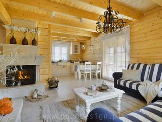 Pracownia Projektowa Poco Design Klassische Wohnzimmer