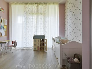 Pracownia Projektowa Poco Design Eclectic style nursery/kids room