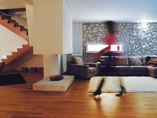 Wohnzimmer von Sammarro Architecture Studio, Modern