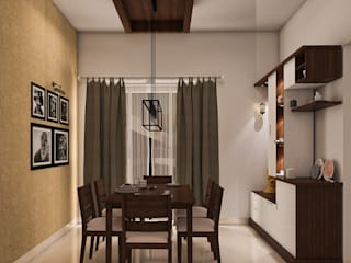 Dining room by Modulart, Modern