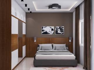 Nowoczesna sypialnia od Modulart Nowoczesny