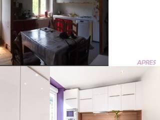 Rénovation cuisine par Bulles d'Inspi