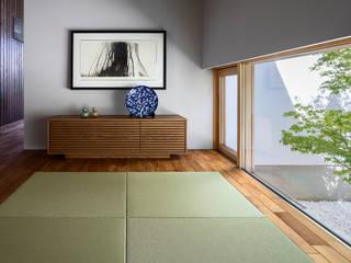 浜松H邸: 遠藤誠建築設計事務所(MAKOTO ENDO ARCHITECTS)が手掛けた和室です。